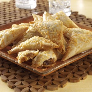 Caramelized Onion & Cheese Pastries Recipe