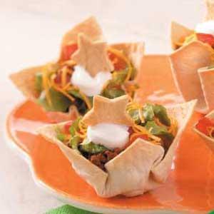 Starry Night Taco Cups Recipe