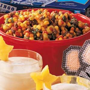 Confetti Caramel Corn Recipe