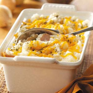 Mashed Potato Sausage Bake Recipe