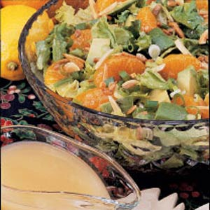 Mandarin Avocado Toss Recipe