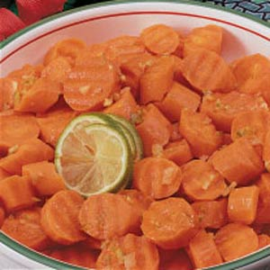 Gingered Lime Carrots Recipe
