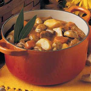 Quick Mushroom Stew Recipe