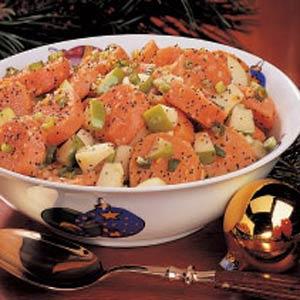 Sweet Potato Salad with Poppy Seed Dressing Recipe