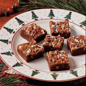 bars for home fudgy toffee bars recipe taste of home 10079