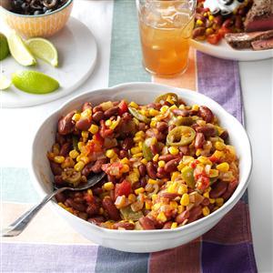 Fiesta Corn and Beans Recipe