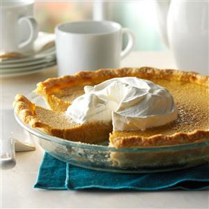 Spiced Butternut Squash Pie Recipe