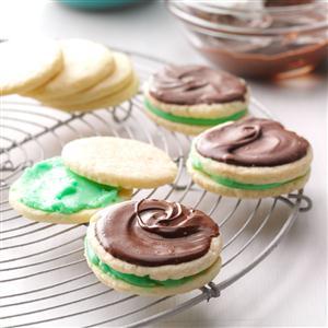 Creme de Menthe Cookies Recipe