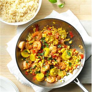 Shrimp & Corn Stir-Fry Recipe