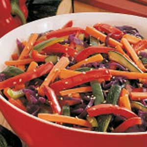 Colorful Vegetable Saute Recipe
