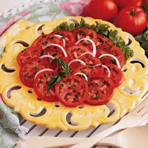 Tangy Tomato Slices Recipe