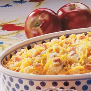 Mashed Potatoes with Ham Recipe