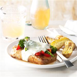 Italian Smothered Pork Chops Recipe
