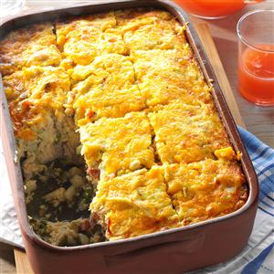 Hash Brown & Chicken Brunch Casserole Recipe