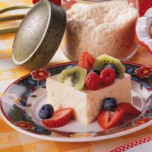 Creamy Cheesecake Squares Recipe