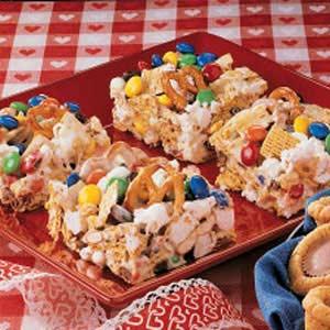 Poppin' Cereal Bars Recipe