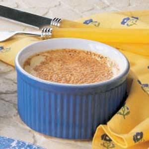 Vanilla Custard Cups Recipe
