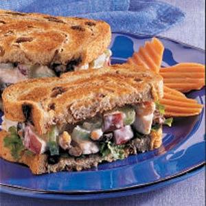 Waldorf Turkey Sandwiches Recipe