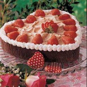 Valentine Berries and Cream Recipe
