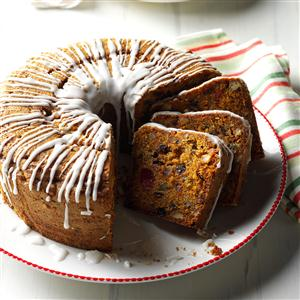 Carrot Fruitcake Recipe
