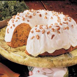 Pecan Carrot Bundt Cake Recipe
