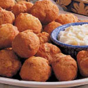 Puffs with Honey Butter Recipe