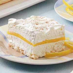 Lemon Schaum Torte Recipe