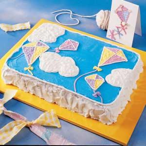 Kite Birthday Cake Recipe