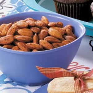 Savory Spiced Almonds Recipe