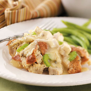 Chicken Supreme with Gravy Recipe