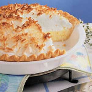 Coconut Cream Meringue Pie Recipe