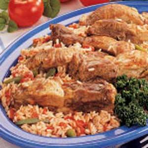 Italian Ribs and Rice Recipe