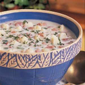 Ham Cauliflower Chowder Recipe