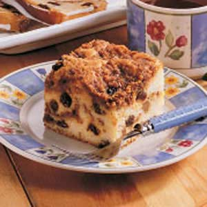 Raisin Buttermilk Coffee Cake Recipe