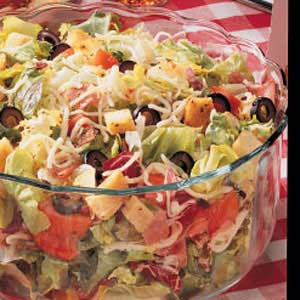 Robust Italian Salad Recipe