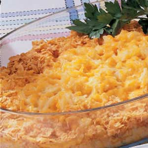 Double Cheddar Hash Browns Recipe