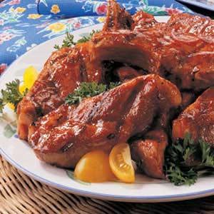 Honey Barbecued Ribs Recipe
