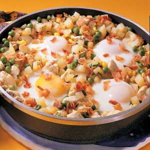 Chicken and Egg Hash Recipe