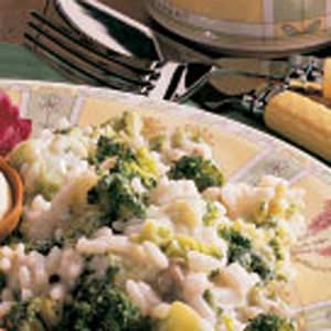 Broccoli with Rice Recipe
