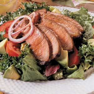 Dressed-Up Steak Salad Recipe