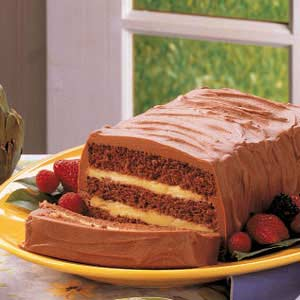 Layered Chocolate Cake Recipe