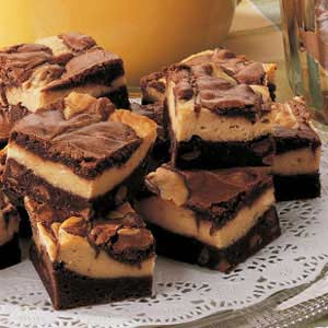 Layered Peanut Butter Brownies Recipe