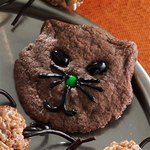 Halloween Black Cat Cookies Recipe