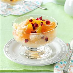 Citrus Compote with Grapefruit Granita Recipe