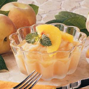Honey Peach Freeze Recipe