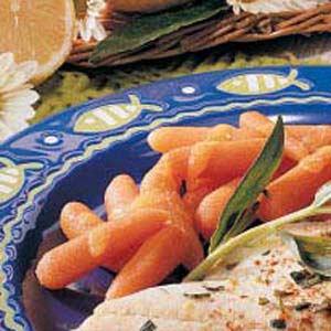 Orange Glazed Baby Carrots Recipe