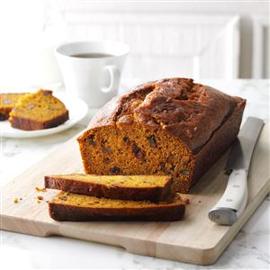 Pumpkin bread recipe taste of home pumpkin bread recipe forumfinder Gallery