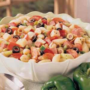 Marinated Italian Pasta Salad Recipe
