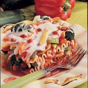Very Veggie Lasagna Recipe