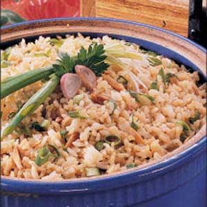 Potluck Rice Pilaf Recipe